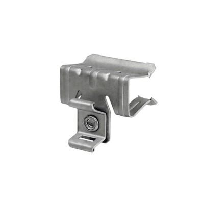 Zacisk metalowy CBR do mocowania kabli do profili otwartych