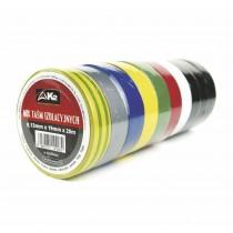 Taśma izolacyjna z PVC (mix kolorów) 10 szt.