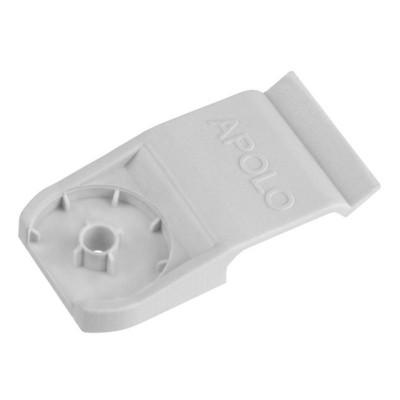 Uchwyt TPC 6x17mm do mocowania płaskich kabli elektrycznych