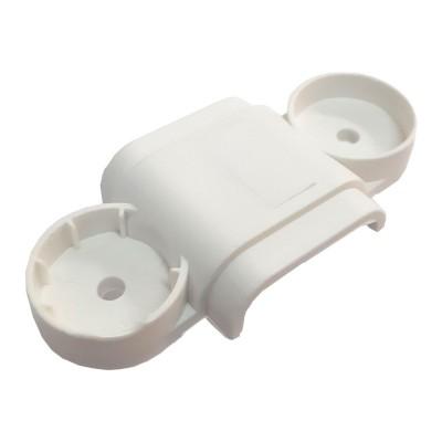 Uchwyt TPLC 9x25mm do mocowania płaskich kabli elektrycznych