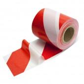 Taśma ostrzegawcza biało-czerwona