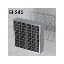 Ogniochronna pęczniejąca kratka wentylacyjna EI240 ALFA FR GRILLE (gr. 80mm)