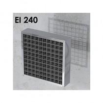 Ogniochronna pęczniejąca kratka wentylacyjna EI240 ALFA FR GRILLE R80 (gr. 80mm)