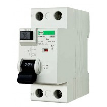 Wyłącznik różnicowoprądowy FPR-AС 2P 25A 30mA AC FPR2025030АС