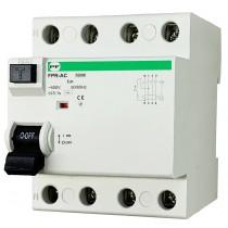Wyłącznik różnicowoprądowy FPR-AС 4P 25A 30mA TYP-AC FPR4025030АС