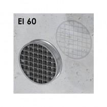 Ogniochronna pęczniejąca kratka wentylacyjna OKRĄGŁA EI60 ALFA FR GRILLE C50 (gr. 50mm)