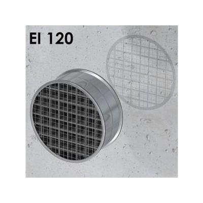 Ogniochronna pęczniejąca kratka wentylacyjna OKRĄGŁA EI120 ALFA FR GRILLE C80 (gr. 80mm)