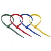 Nylonowa opaska zaciskowa do kabli, kolorowa