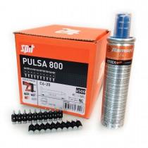Gwoździe standard C6 z gazem PULSA 800 do betonu, ceramiki i silikatu