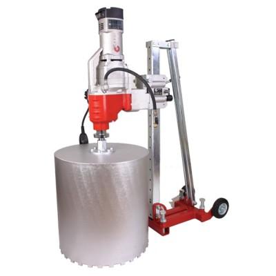 Zestaw wiertniczy CARDI C500/230 (wiertnica + silnik + płyta dystansowa)