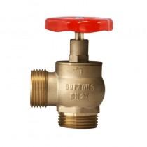 Zawór hydrantowy 25 mosiężny bez nasady