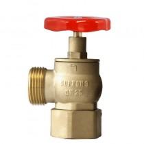 Zawór hydrantowy 25 mosiężny z nasadą obrotową