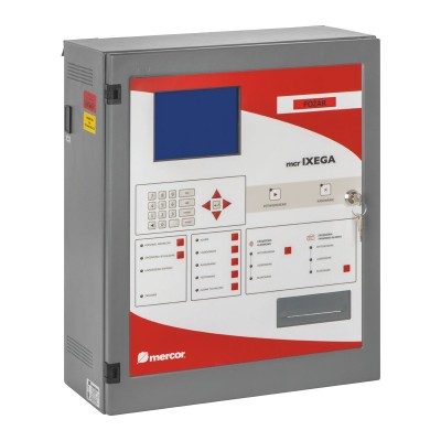 mcr iXega - Centrala sygnalizacji pożarowej i sterowania urządzeniami przeciwpożarowymi