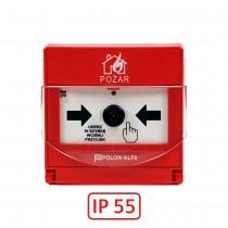 Ręczny adresowalny ostrzegacz pożarowy ROP-4001MH