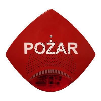 Sygnalizator akustyczno-optyczny zewnętrzny SAOZ-Pk